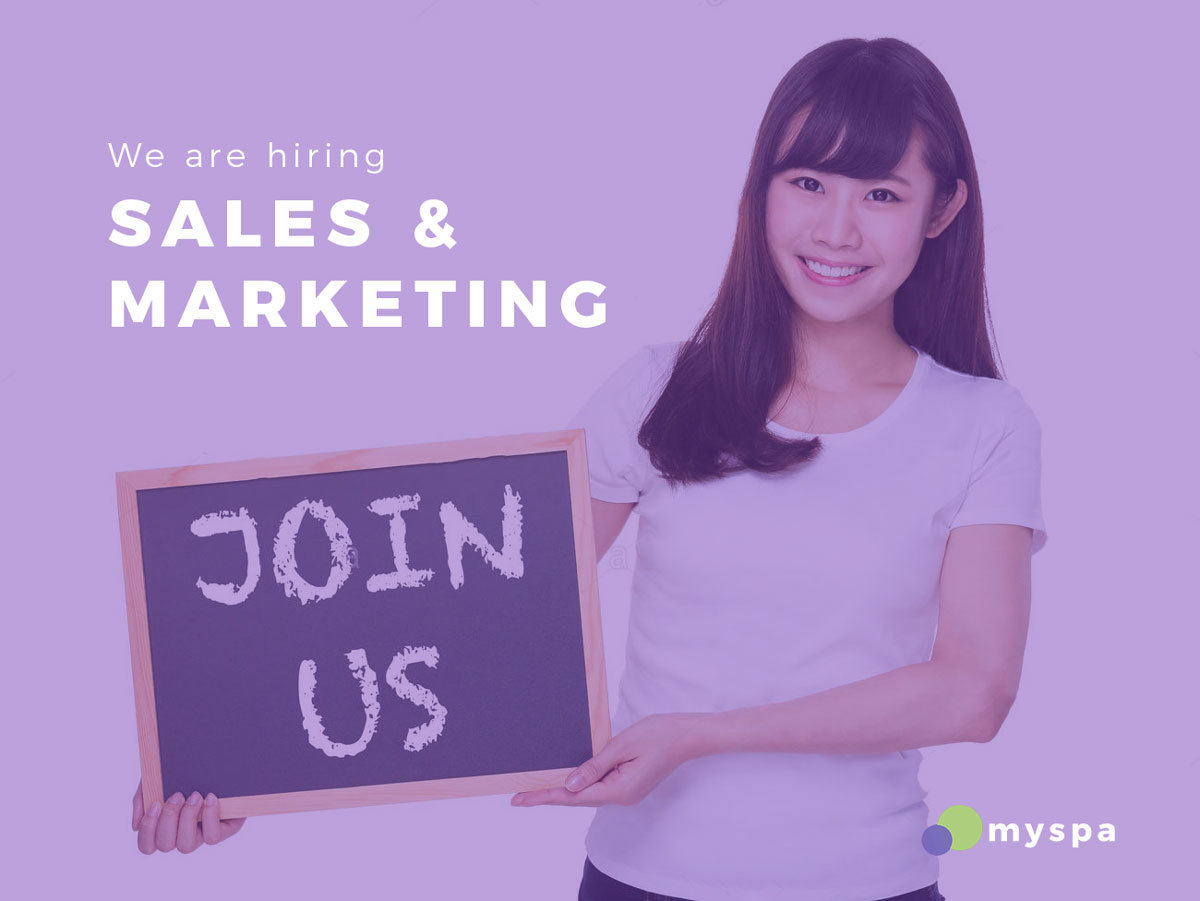We are hiring Sales & Marketing